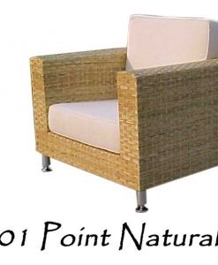 Point Natural Rattan Chair