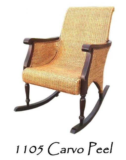 Carvo Rattan Rocking Chair