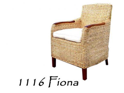 Fiona Wicker Arm Chair