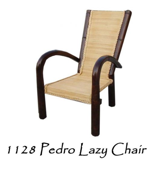 Pedro Rattan Lazy Chair