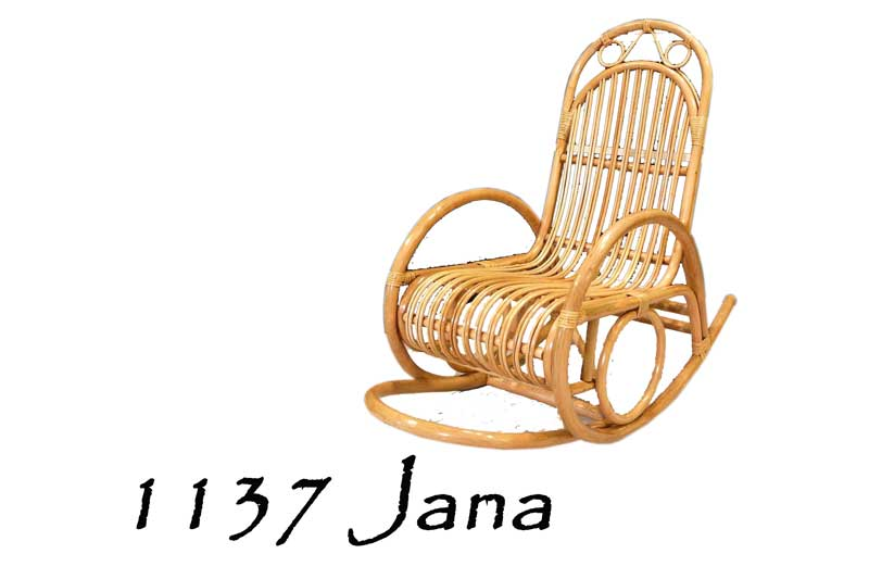 Stupendous Jana Rattan Rocking Chair Natural Rattan Furniture Spiritservingveterans Wood Chair Design Ideas Spiritservingveteransorg