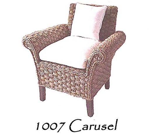 Carusel Wicker Arm Chair