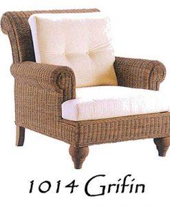 Grifin Wicker Arm Chair