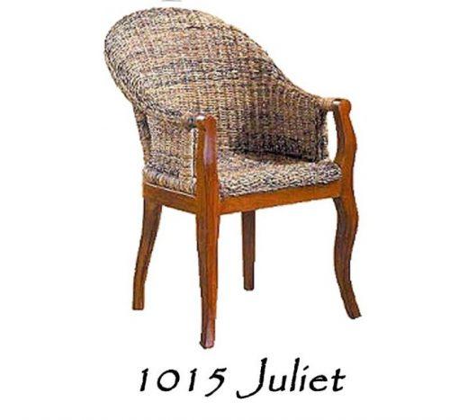 Juliet Wicker Arm Chair