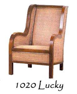 Lucky Rattan Arm Chair