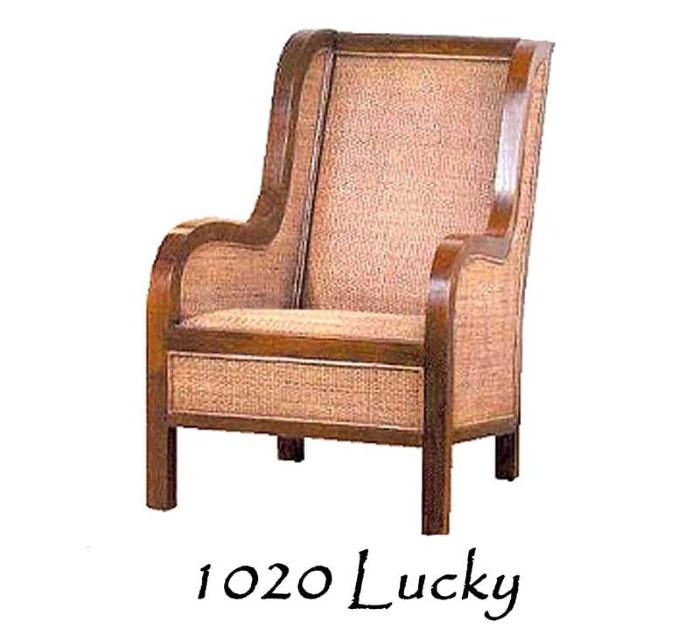 Lucky Rattan Arm Chair   Natural Rattan Furniture ...