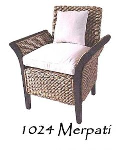 Merpati Wicker Arm Chair