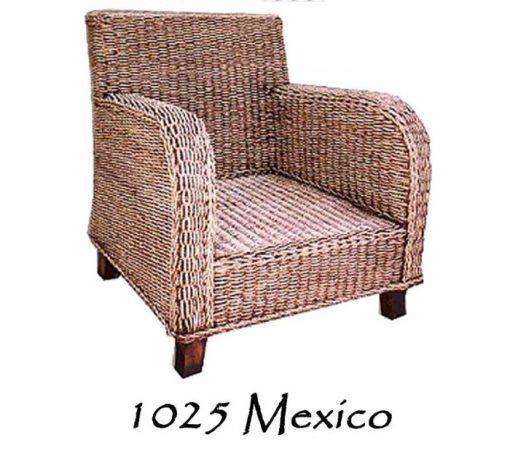 Mexico Rattan Arm Chair