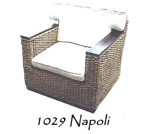 Napoli rattan Arm Chair