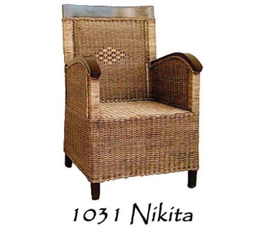 Nikita Rattan Arm Chair