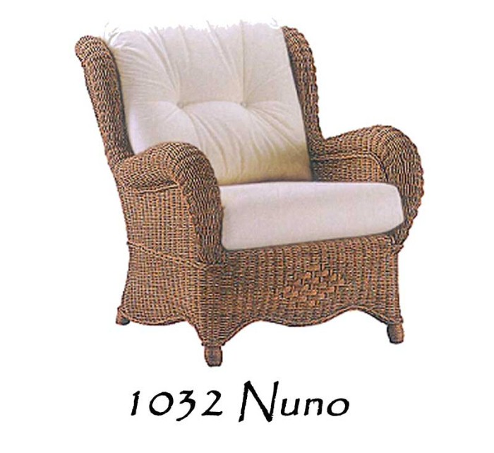 Nuno Wicker Arm Chair