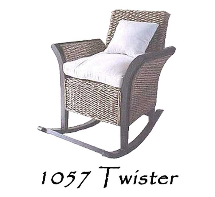 Swell Twister Wicker Rocking Chair Natural Rattan Furniture Spiritservingveterans Wood Chair Design Ideas Spiritservingveteransorg