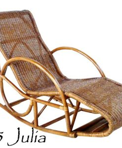 JULIA Rattan Rocking Chair