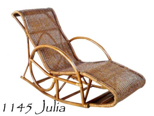 JULIA Rattan Rocking Chair