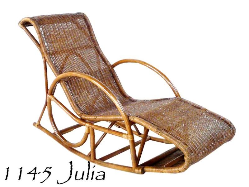 Genial JULIA Rattan Rocking Chair