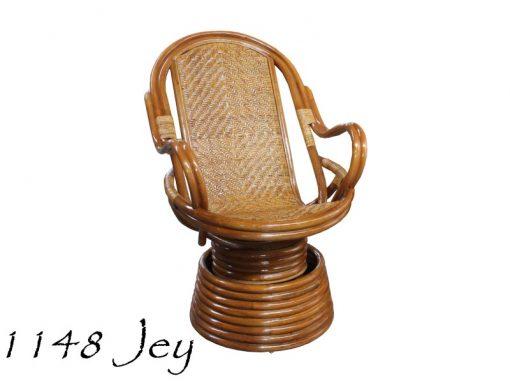 Jey Rattan Swivel Chair