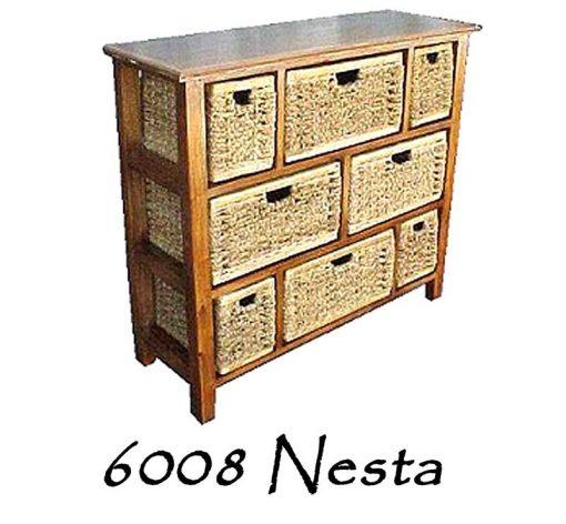 6008-Nesta Wicker Drawer