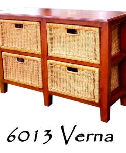 Verna Rattan Drawer