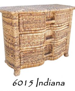 6015-Indiana Wicker Drawer