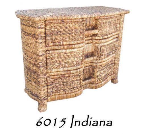 6015-Indiana Wicker Drawer