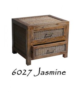 6027-Jasmine Wicker Drawer