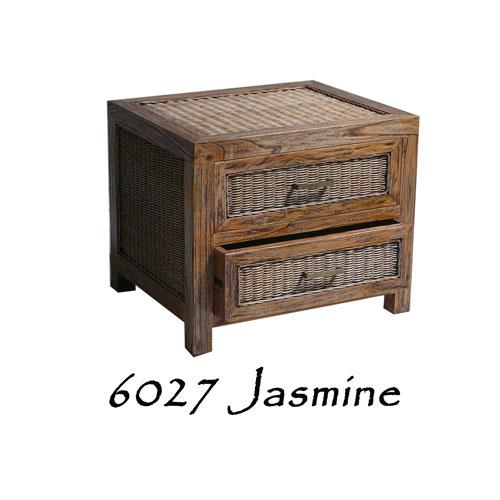6027-Jasmine Wicker Drawer