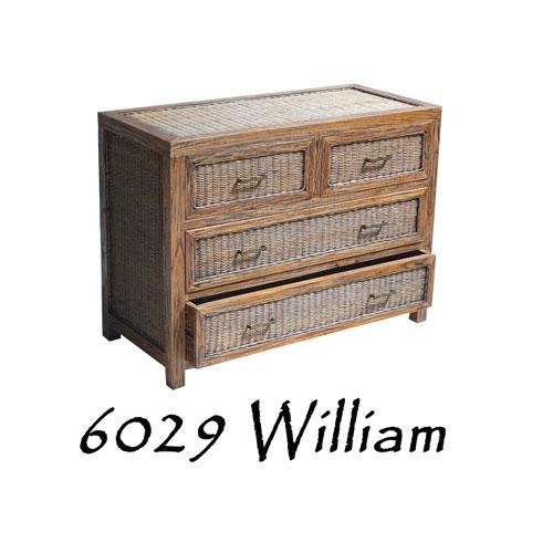 William Rattan Drawer