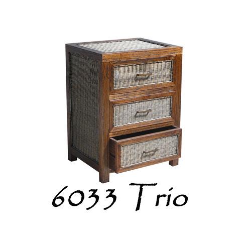Trio Wooden Drawer