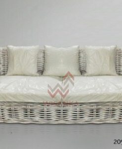 2094 Herrera Sofa 3 seater (CL White) (Custom)