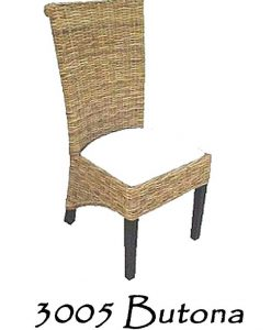 Butona Wicker Dining Chair