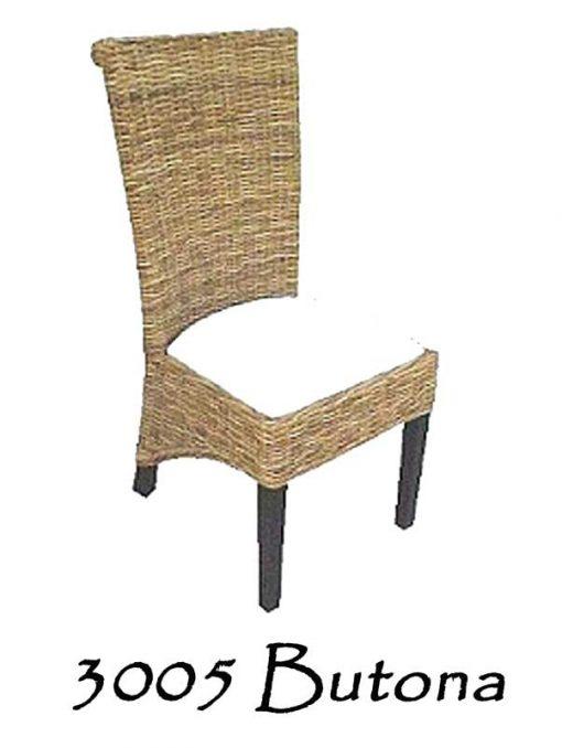 Butona Wicker Dining Chair