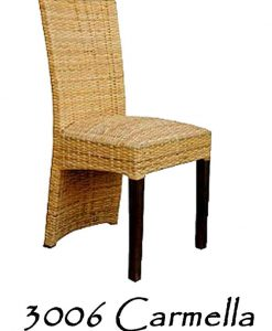 Carmella Rattan Dining Chair