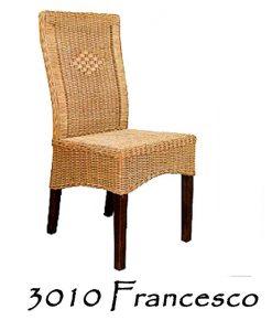 Francesco Rattan Dining Chair