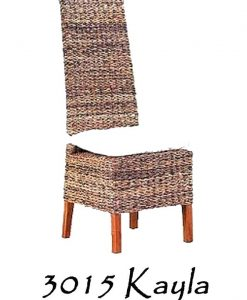 Kayla Wicker Dining Chair