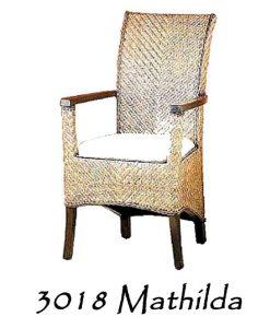 Mathilda Rattan Dining Chair