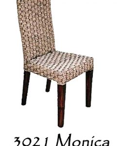 Monica Wicker Dining Chair