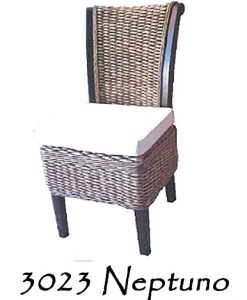 Neptuno Wicker Dining Chair