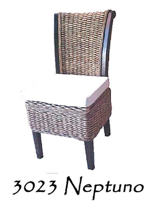 Neptuno Wicker Dining Chair
