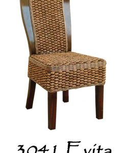 Evita Wicker Dining Chair