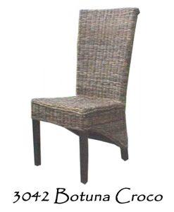 Botuna Croco Rattan Chair