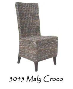 Maly Croco Wicker Chair