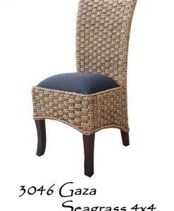 Gaza Seagrass 4x4 Woven Chair