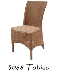 Tobias Rattan Dining Chair
