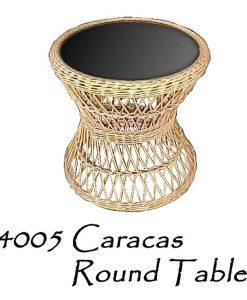 Caracas Rattan Console Table