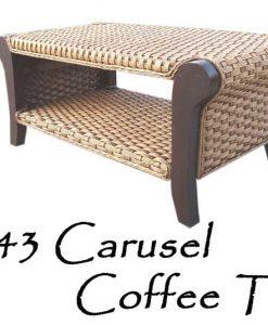 Carusel Rattan Coffee Table