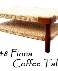 Fiona Wicker Coffee Table