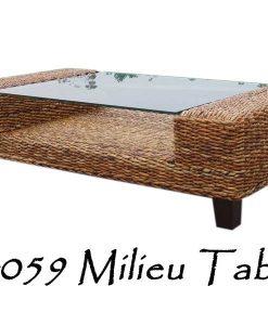 Milieu Wicker Table