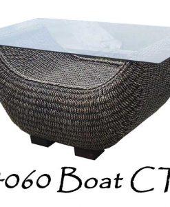 Boat Rattan Coffee Table