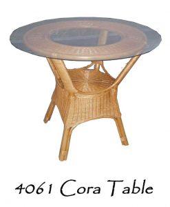 Cora Rattan Round Table