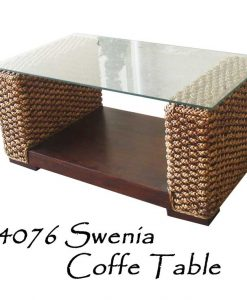 Swenia Wicker Side Table